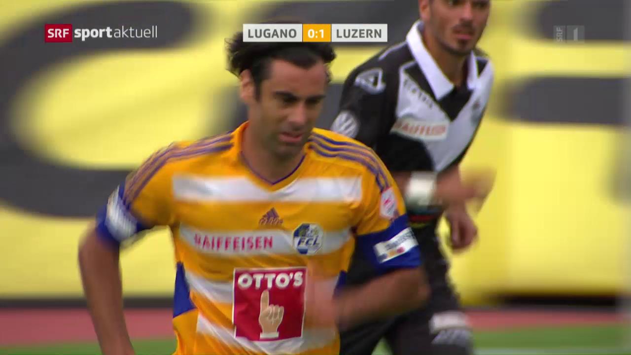 Lugano dominiert, doch Luzern siegt