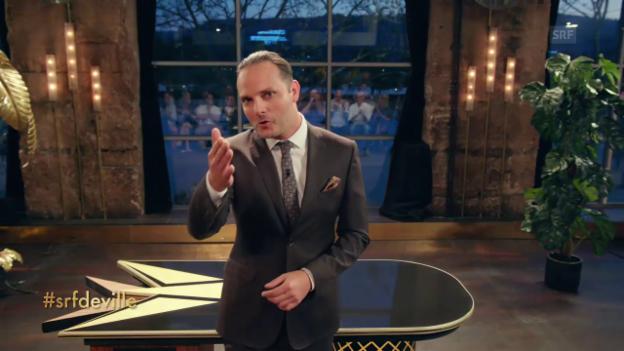 Video ««Deville»: Sorry, es hat nur für eine One-Man-Rockshow gereicht!» abspielen