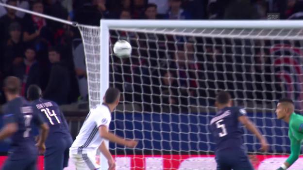 Video «Zusammenfassung PSG - Basel» abspielen