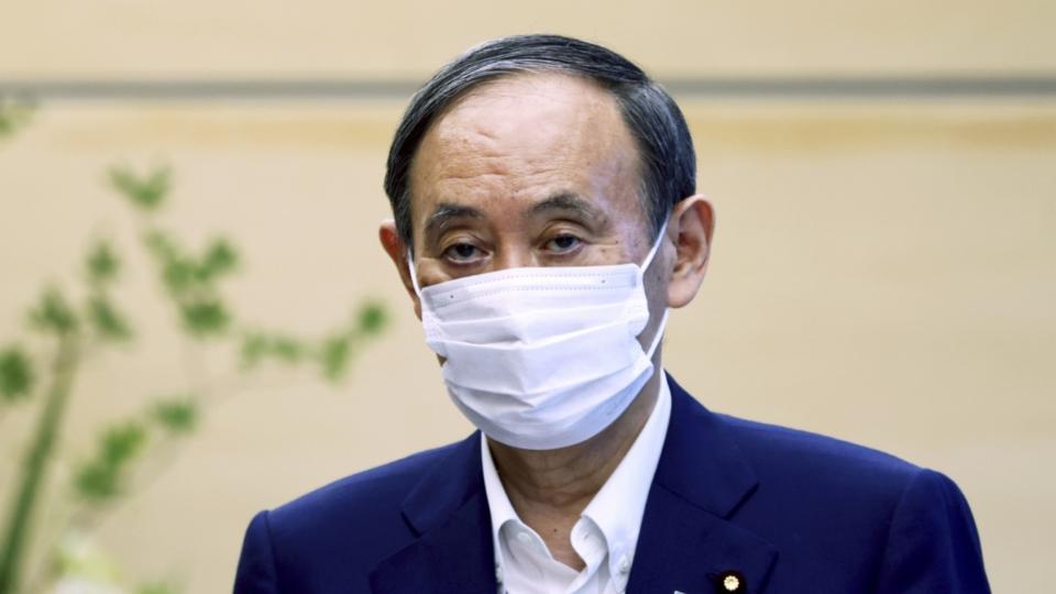 Olympia und Corona haben Japans Regierungschef Suga geschadet