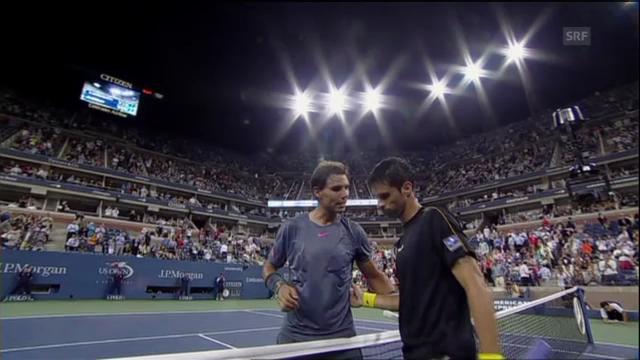 Matchbälle von Nadal, Raonic und Ferrer (ohne Kommentar)