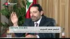 Video «Saad Hariri bald zurück» abspielen