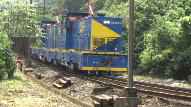Video «Die Mega-Lokomotive» abspielen