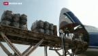 Video «UNO-Luftbrücke für Nordirak» abspielen