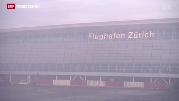 Video «Knatsch über Gebühren am Flughafen Zürich» abspielen