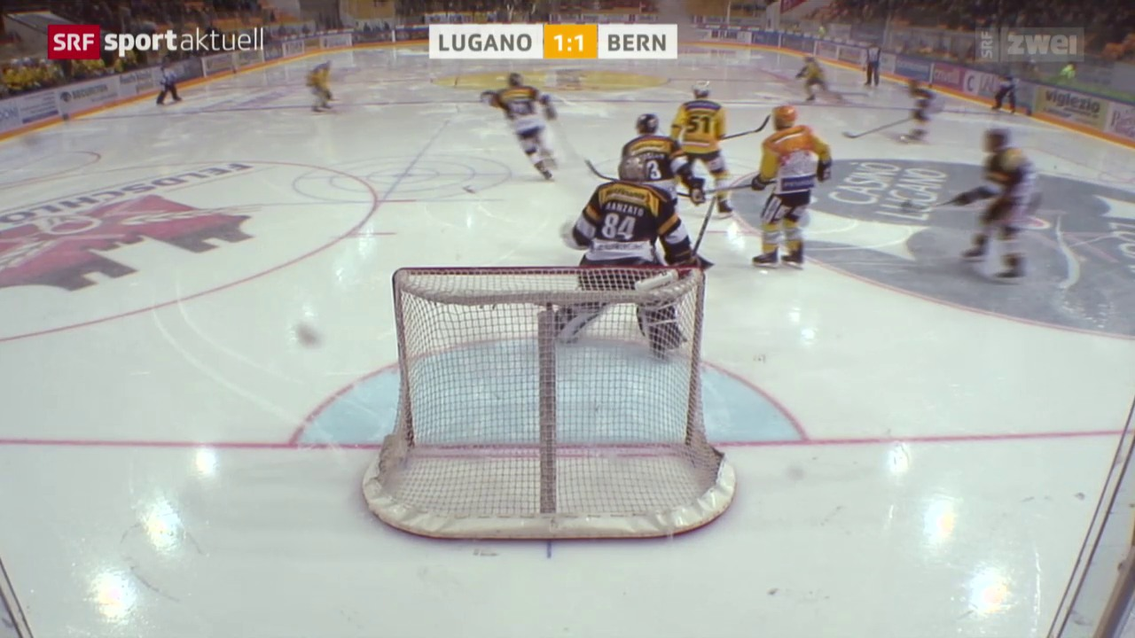Eishockey, NLA: Lugano - Bern