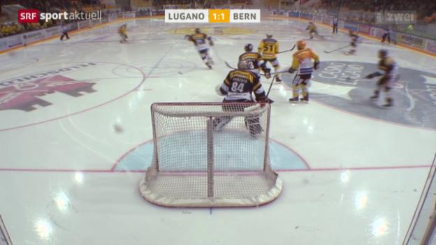 Video «Eishockey, NLA: Lugano - Bern» abspielen