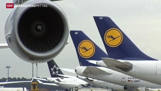 Video «Lufthansa-Gewinn unter Druck» abspielen