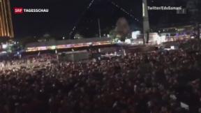 Video «Über 50 Tote und über 400 Verletzte in Las Vegas» abspielen