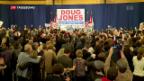 Video «Umstrittener US-Republikaner verliert Wahl in Alabama» abspielen