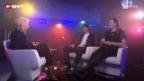 Video «Im Gespräch: Iouri Podladtchikov und Elias Ambühl, Freestyler» abspielen