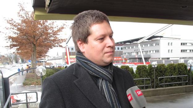 Peter With, SVP-Präsident Stadt Luzern, im Gespräch (Beat Vogt, 16.12.2012)