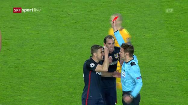 Video «Die SRF-Experten diskutieren über den Platzverweis von Fernando Torres» abspielen