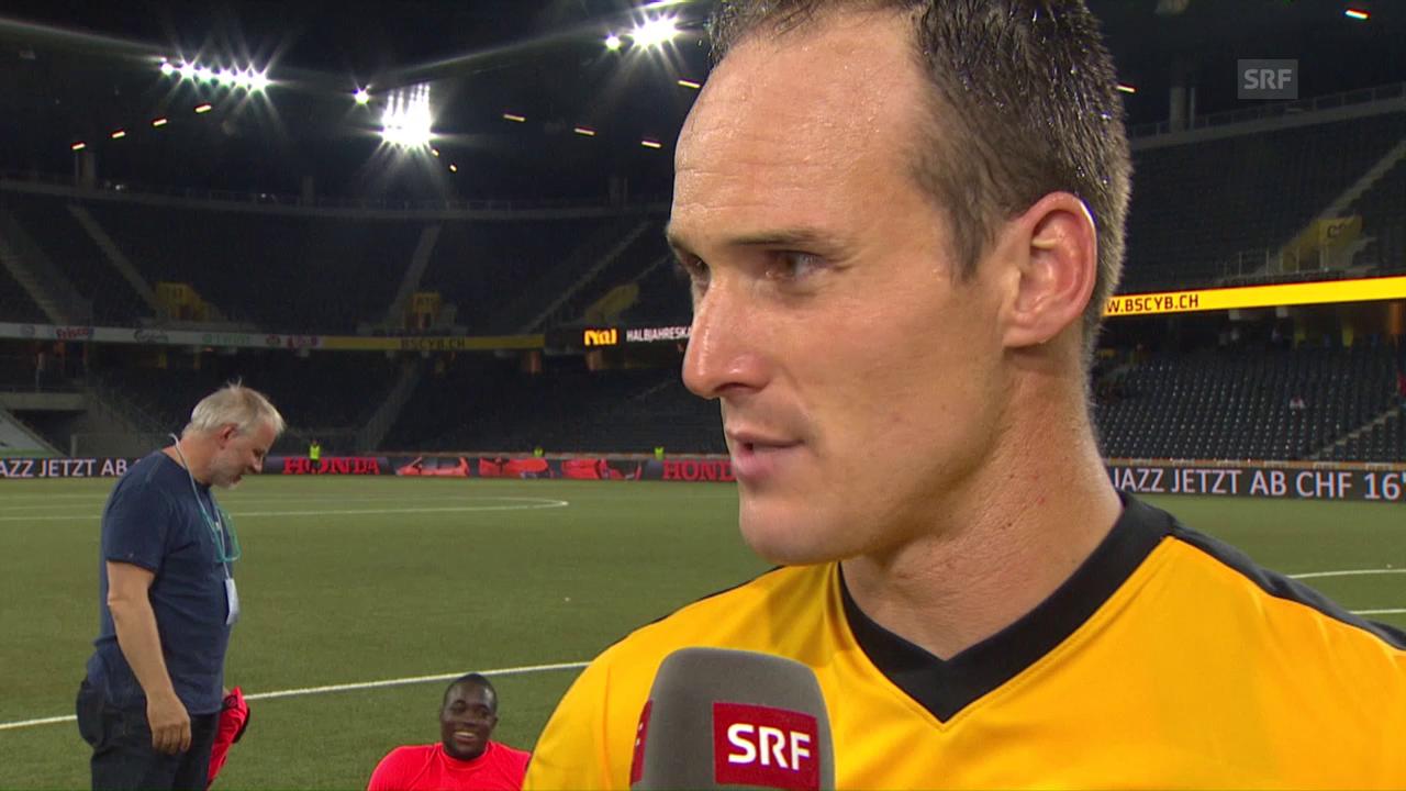 Steve von Bergen im Interview: «Machten ein Top-Spiel»