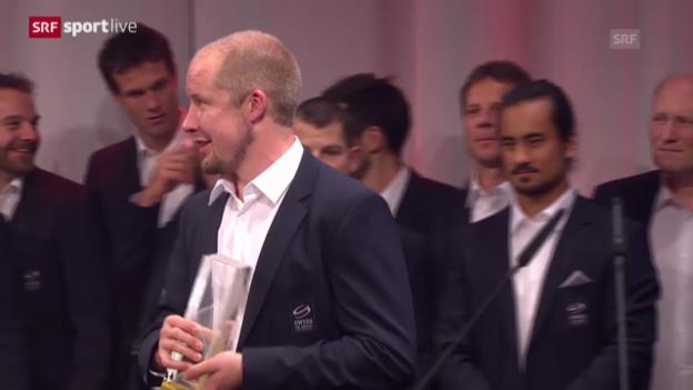 Video «Nati mit Hockey Award ausgezeichnet» abspielen