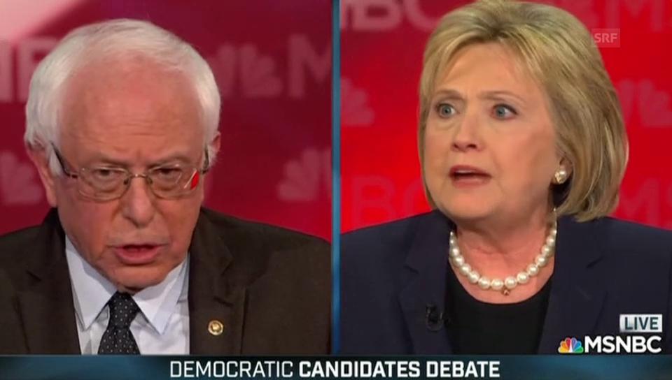 Clinton: «Zeit, die Schmierenkampagne zu beenden»