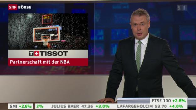 Video «SRF Börse: Tissot neuer NBA-Zeitnehmer» abspielen