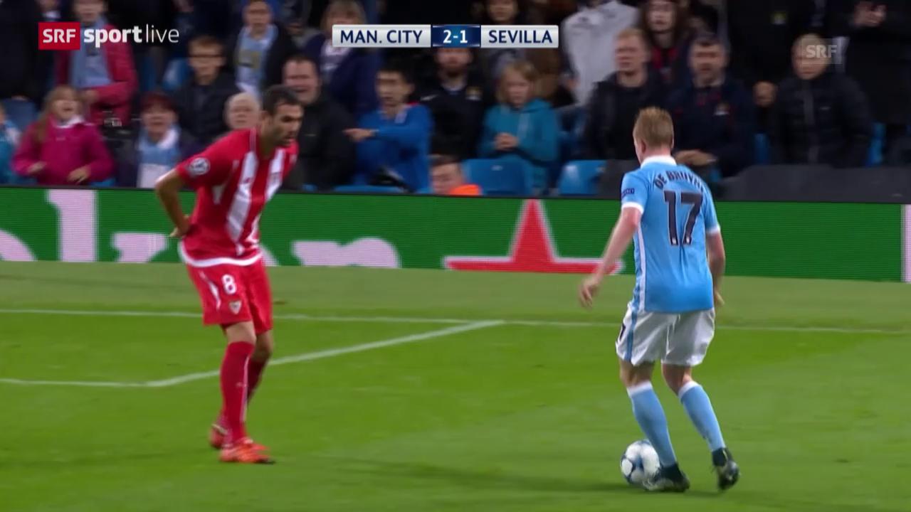 Fussball: CL, ManCity - Sevilla