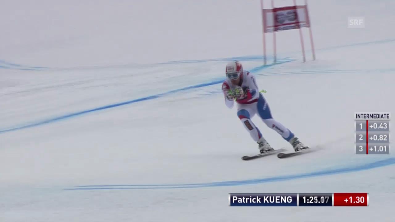 Ski: Abfahrt Männer Santa Caterina, Fahrt von Patrick Küng