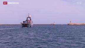 Video «Mittelmeer: Hilfe für Bootsflüchtlinge» abspielen