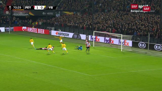 1 1 Gegen Feyenoord Rotterdam Spielmanns Torpremiere