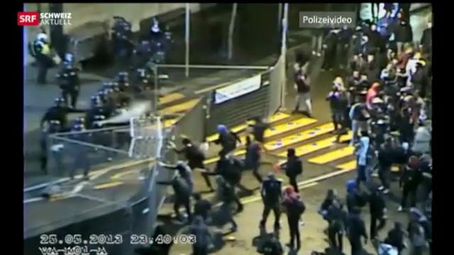 Polizei am Anschlag