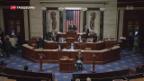 Video «Trumps Gesundheitsreform auf der Kippe» abspielen