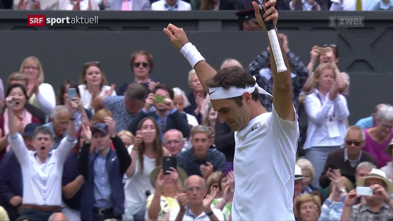 Federer ringt Berdych im Halbfinal nieder