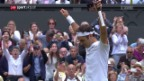 Video «Federer ringt Berdych im Halbfinal nieder» abspielen