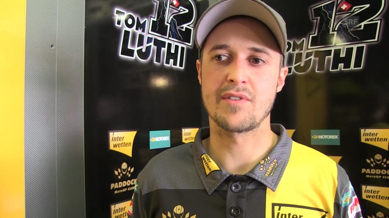 Moto2: GP von Katalonien, Interview mit Tom Lüthi