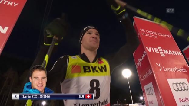 Video «Tour de Ski: Zusammenfassung nach der 6. Etappe» abspielen