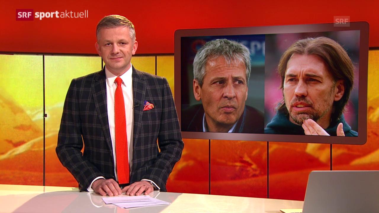 Fussball: Favre und Schmidt im Bundesliga-Duell