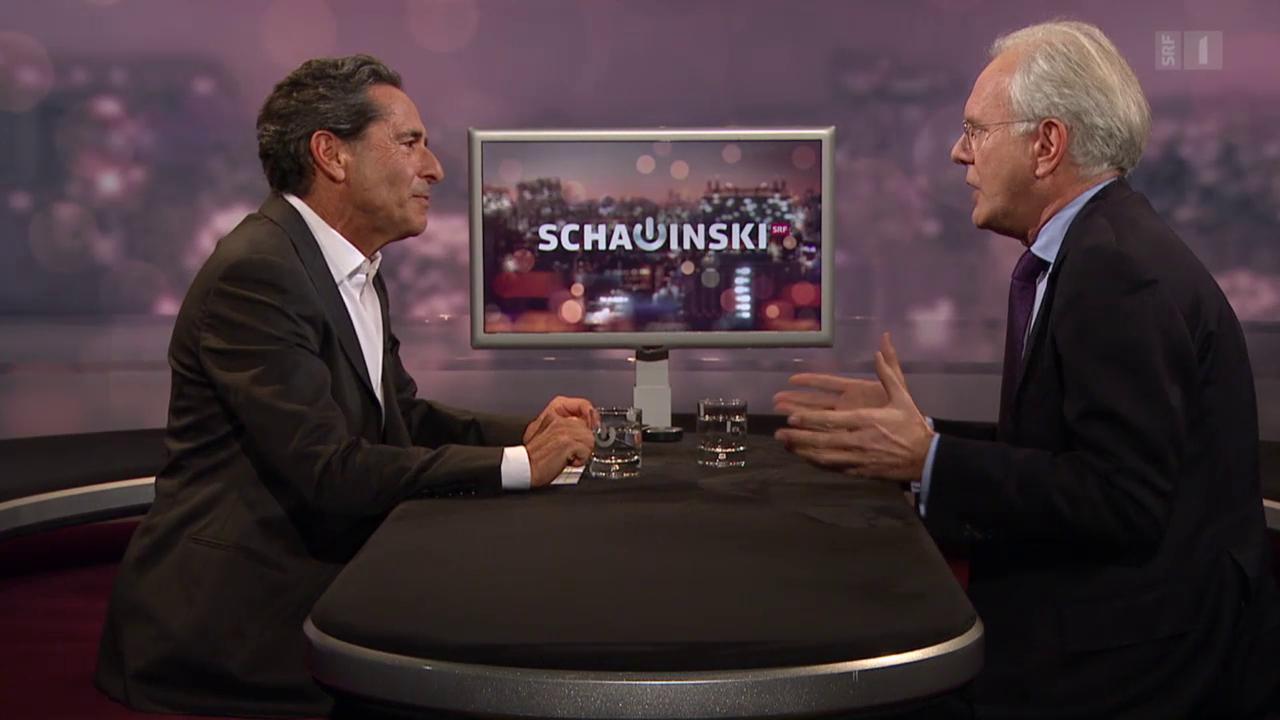 Harald Schmidt bei Schawinski
