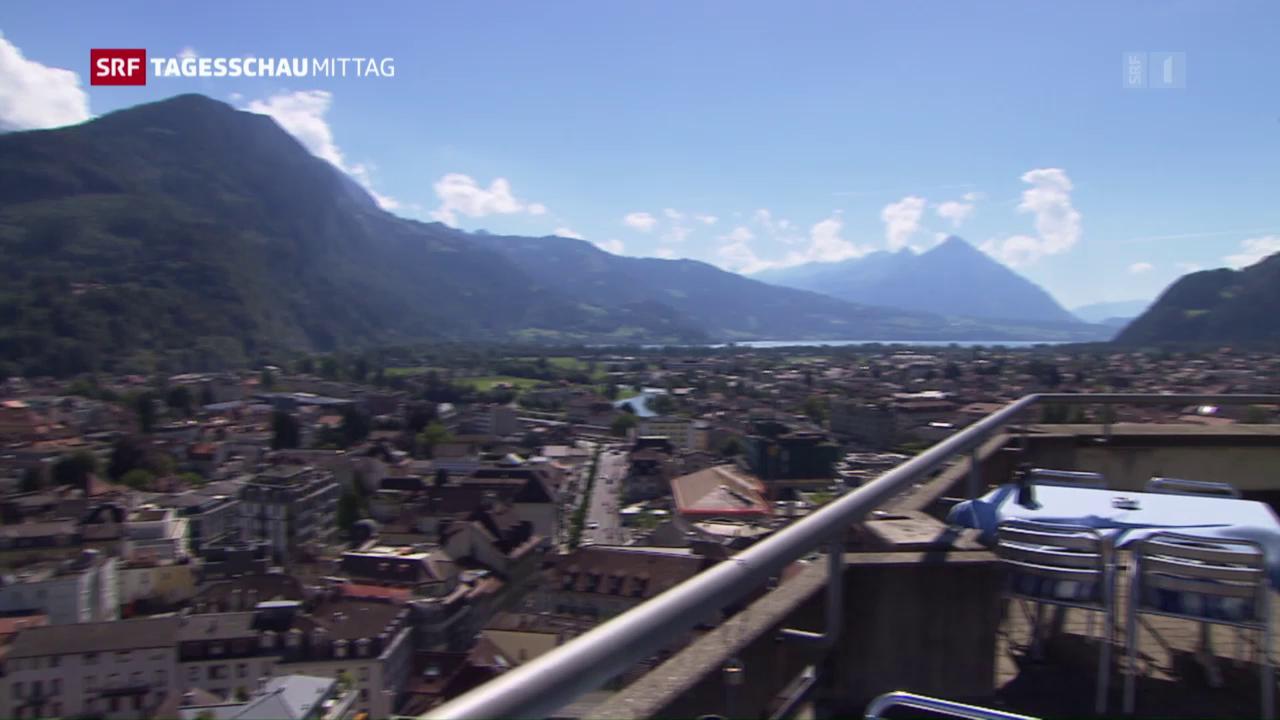 Touristen meiden die Schweiz