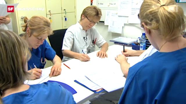 Ausbildung von Schweizer Pflegepersonal