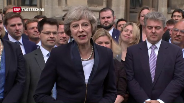 Video «Theresa May wird britische Premierministerin» abspielen