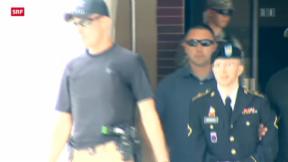 Video «Wikileaks-Informant Bradley Manning verurteilt» abspielen