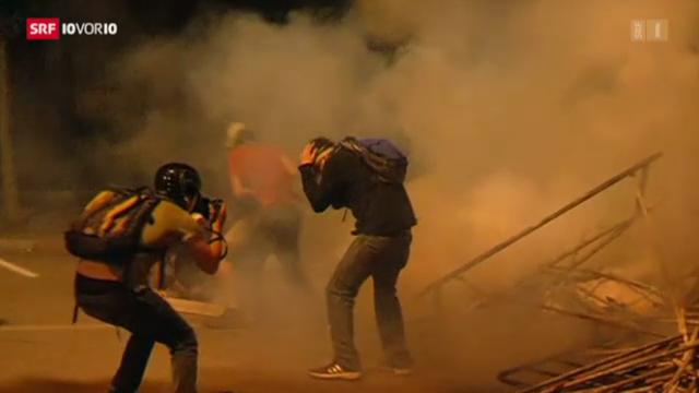 Heftige Proteste in der Türkei