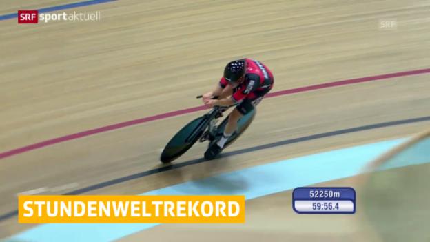 Video «Rad: Dennis fährt Stundenweltrekord («sportaktuell»)» abspielen