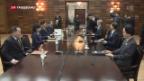 Video «Annäherung Nord- und Südkorea» abspielen