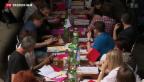 Video «Steuergerechtigkeit ist Schwerpunkt am SP-Parteitag» abspielen