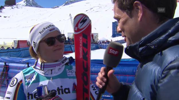 Video «Rebensburg: «Eva verdient die Kugel»» abspielen