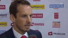 Video «Nati-Coach Fischer ist zufrieden» abspielen