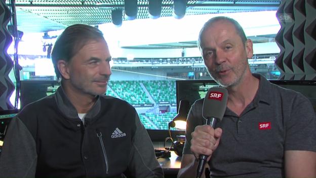 Video ««Wawrinka schlägt härter, Federer variabler auf»» abspielen