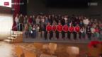 Video «Fussball: U21-Nationalmannschaft auf Schulbesuch» abspielen