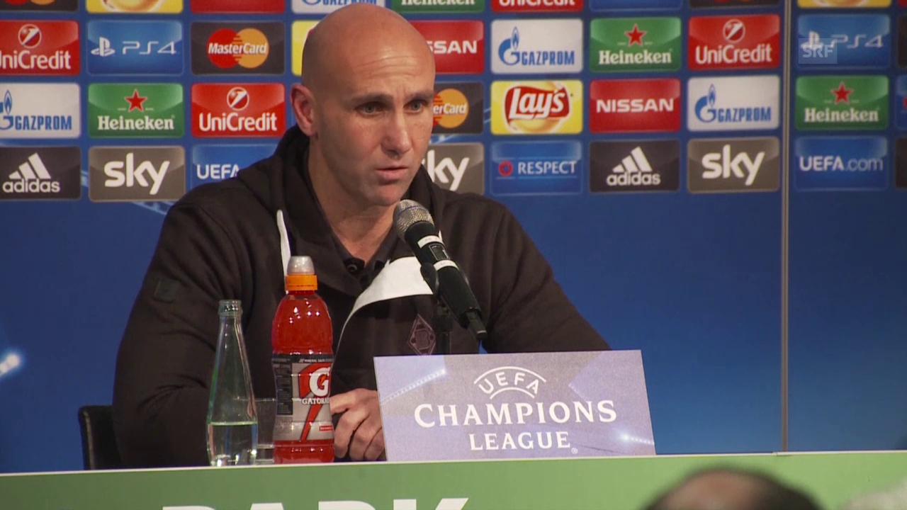 Fussball: CL, Gladbach - Juventus, MK mit André Schubert