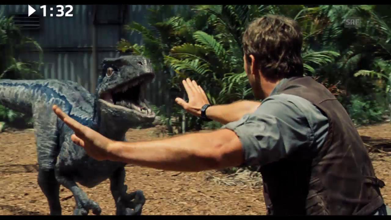 Keine 3 Minuten: «Jurassic World»