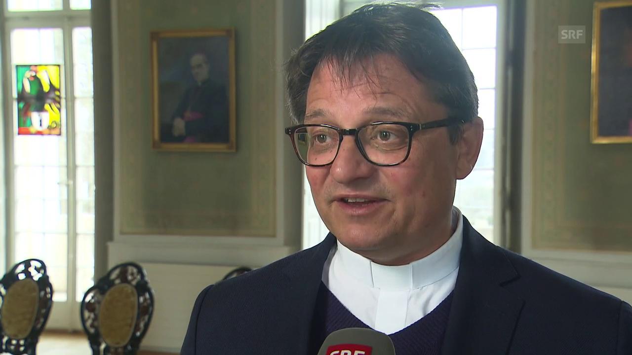 Bischof Felix Gmür zum Papstbesuch