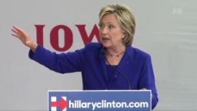 Video «Hillary Clinton: Gefahr für die Pharmafirmen» abspielen
