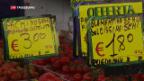 Video «Italienische Parteien werben für die Rückkehr der Lire» abspielen